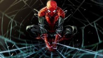 Marvel comics spider-man fan art upscaled wallpaper