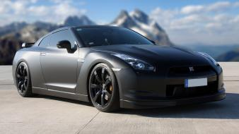 Nissan gtr r35 gtr specv cars mountains wallpaper
