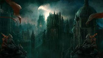 Shadow 2 artwork castle cityscapes digital art wallpaper