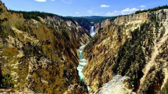 Unesco world heritage site yellowstone national park Wallpaper