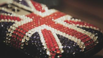 United kingdom cellphones flags Wallpaper