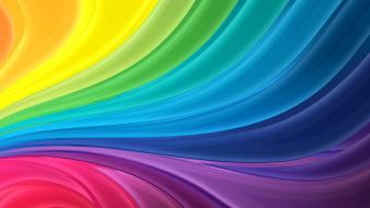 Abstract colors digital art patterns rainbows wallpaper