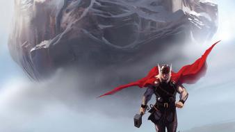 Avengers marvel comics thor wallpaper