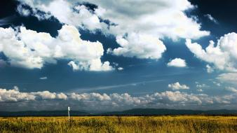 Beskidy poland blue skies clouds filter landscapes wallpaper
