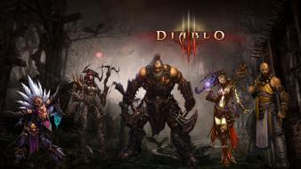 Blizzard entertainment demon hunter diablo iii witch doctor wallpaper