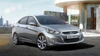 Cars hyundai solaris wallpaper