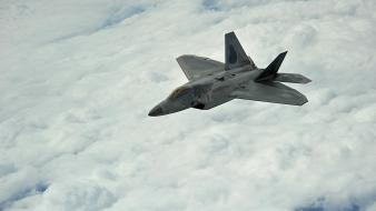 F22 raptor aircraft military wallpaper