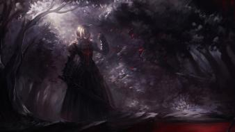 Fatestay night fate series saber alter typemoon wallpaper