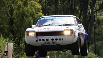 Ford capri rally car wallpaper