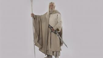 Gandalf the white ian mckellen rider mage Wallpaper