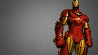 Iron man marvel comics artwork simple background wallpaper