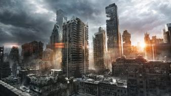 Jonasdero new york city apocalypse cityscapes ruins Wallpaper