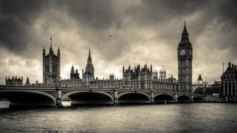 London black and white cityscapes wallpaper