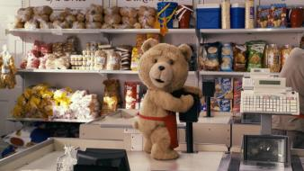 Ted funny movies teddy bears wallpaper