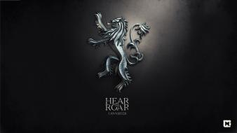 Thrones hear me roar house lannister melaamory wallpaper