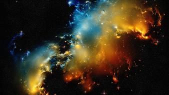 Galaxies nature nebulae outer space wallpaper