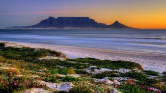 Cape town south africa table mountain landscapes nature wallpaper