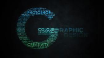 Graphic design text typography wallpaper