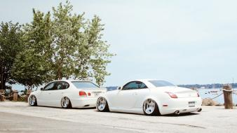 Lexus gs300 sc cars tuning white Wallpaper