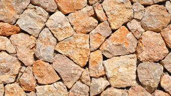 Stone wall textures wallpaper