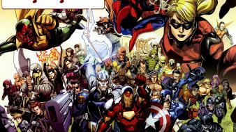 Avengers comics marvel the superheroes wallpaper