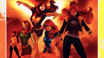 Dark phoenix jean grey marvel comics xmen wallpaper