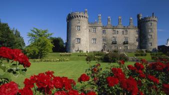 Ireland kilkenny castle roses Wallpaper