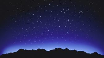 Bright light stars Wallpaper