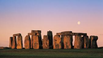 England stonehenge sunset wallpaper
