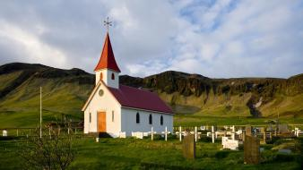 Iceland churches wallpaper