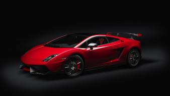 Lamborghini black background cars red vehicles wallpaper