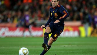 Spain national football team xavi hernandez soccer wallpaper
