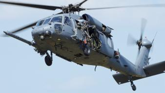 Uh60 black hawk aircraft helicopters military vehicles wallpaper