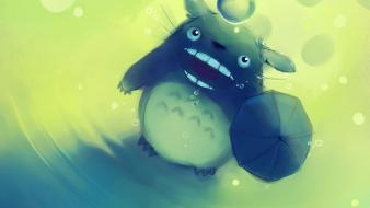 Apofiss my neighbour totoro artwork upscaled wallpaper