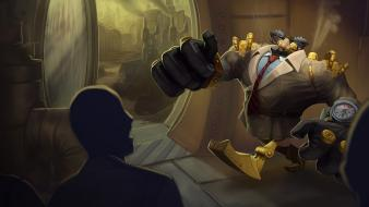 Blitzcrank league of legends wallpaper