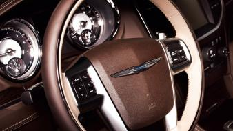 Chrysler 300 car interiors series steering wheel Wallpaper