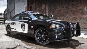 Dodge charger cars muscle police wallpaper