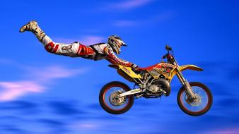 Freestyle motocross motorbikes racer sports Wallpaper