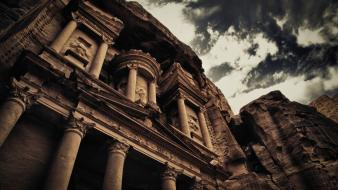 Hdr photography petra wallpaper