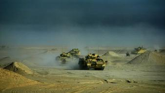 Iraq army tanks war wallpaper