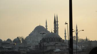 Istanbul turkey turkish mosques wallpaper