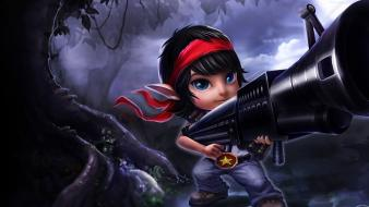League of legends tristana video games wallpaper