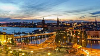 Stockholm sweden cityscapes wallpaper