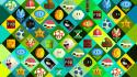 Video games mario design retina display wallpaper