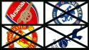 United premier league football teams hotspur arsenal Wallpaper