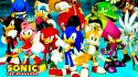 Hedgehog video games friends game characters team Wallpaper