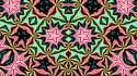 Kaleidoscope psyche abstract backgrounds colors wallpaper